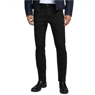 Jack & Jones Intelligence Black Denim Clark 883 Regular Fit Jeans