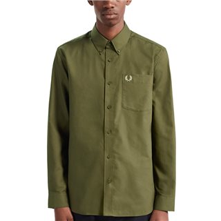 Fred Perry Dark Thorn Oxford Shirt