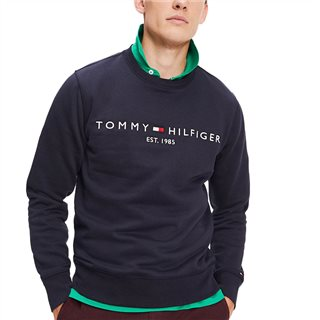 Tommy Hilfiger Sky Captain Organic Cotton Blend Logo Sweater