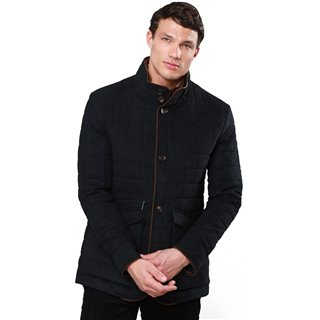 Magee 1866 Navy Glenveigh Quilted Classic Fit Jacket