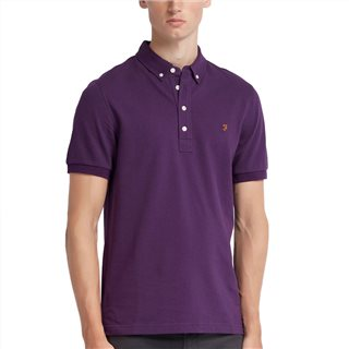 Farah Ricky Short Sleeve Polo Shirt
