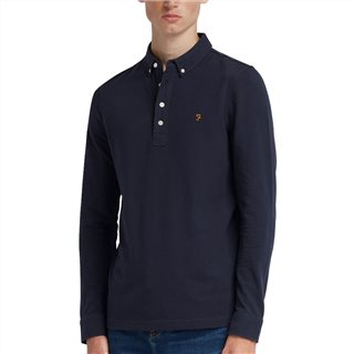 Farah Ricky Long Sleeve Polo Shirt
