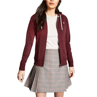 Jack Wills Damson Ivy Raglan Zip Through Hoodie