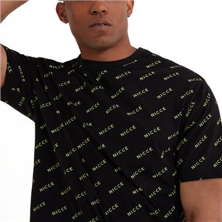 Nicce Black Flank T-Shirt