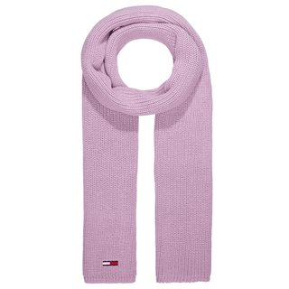 Tommy Accessories Orchid Flag Rib-Knit Scarf
