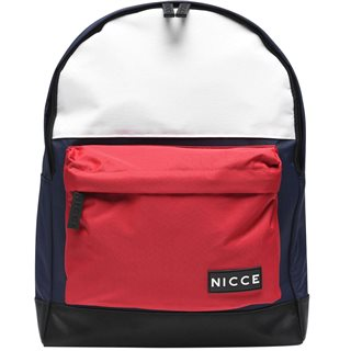 Nicce Navy/Red/White Kora Backpack