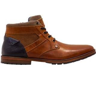 Tommy Bowe Footwear Camel Mix OBrien Lace Up Boots