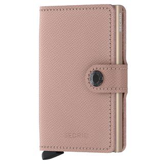 Secrid Rose Floral Crisple Leather Mini Wallet