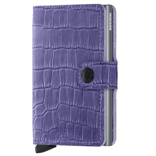 Secrid Lavender Cleo Leather Mini Wallet