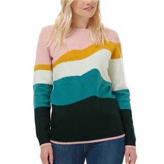 Sugarhill Brighton Multi Poppy Mountain Waves Sweater