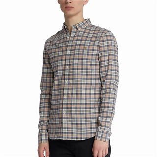 Farah Blush Mccaslin Slim Fit Check Shirt