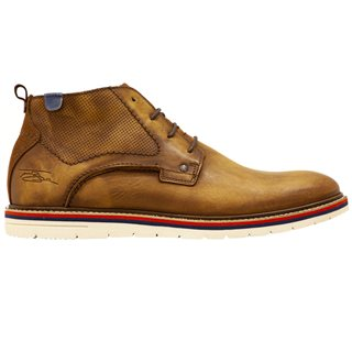Tommy Bowe LLoyd & Pryce Camel Stander Lace Up Mid Boots
