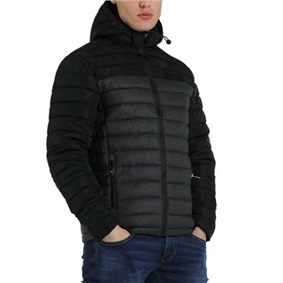 Diesel Black Wyatt Padded Jacket