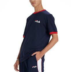 Fila Navy Rosco Ringer T-Shirt