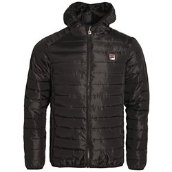 Fila Black Pavo Quilted Puffer Jacket