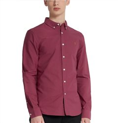 Farah Azalea Brewer Slim Fit Oxford Shirt
