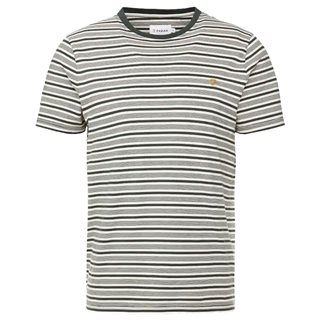Farah Deep Olive Reeth Striped T-Shirt