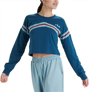 Fila Deep Dive AJA Long Sleeve Cropped Tee