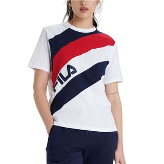 Fila White / Red / Blue Cho T-Shirt