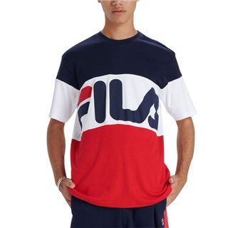 Fila Navy / Red / White Vialli T-Shirt