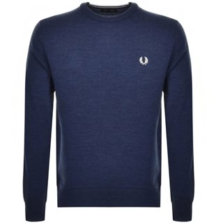 Fred Perry Phantom Merino Crew Neck Sweater