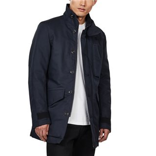 G-Star Mazarine Blue Scutar Utility Padded Trench Coat
