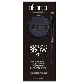 BPerfect Cosmetics Charcoal Semi-Permanent Brow Kit