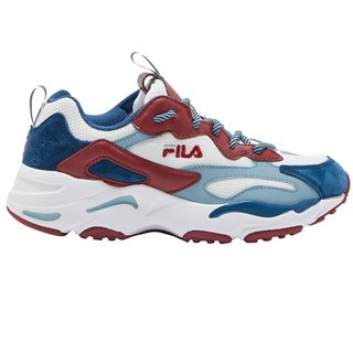 Fila White Ray Tracer Trainers