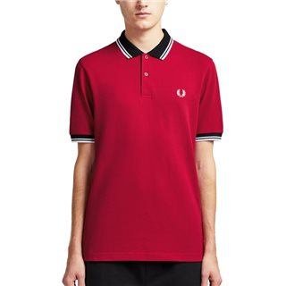 Fred Perry Siren Colour Block Polo Shirt