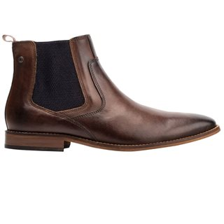Base London Brown Scout Washed Chelsea Boot