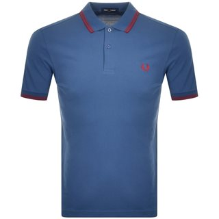 Fred Perry Midnight Blue M3600 Twin Tipped Polo Shirt