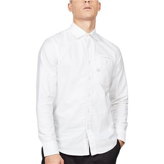 G-Star Spar White Bristum 1 Pocket Slim Shirt