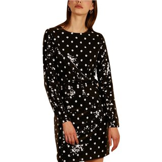 FRNCH Paris Noir-Pois Aidi Dress