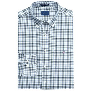 Gant Ivy Green Broadcloth 3-Colour Gingham Shirt