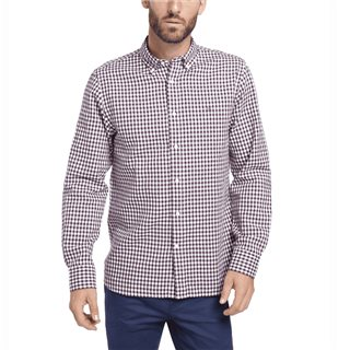 Tommy Hilfiger Potent Purple Classic Textured Gingham Shirt