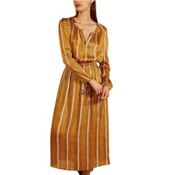 FRNCH Paris Yellow Stripes Allian Dress