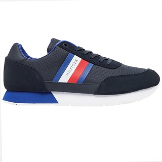 Tommy Hilfiger Footwear Desert Sky Mixed Texture Suede Trainers