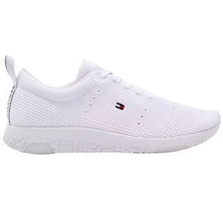 Tommy Hilfiger Footwear White Corporate Knit Modern Runner Trainers