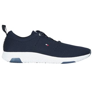 Tommy Hilfiger Footwear Navy Corporate Knit Modern Runner Trainers