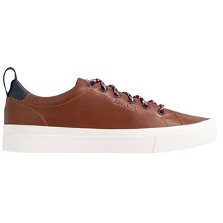 Tommy Hilfiger Footwear Natural Cognac Premium Leather Vulcanised Trainers