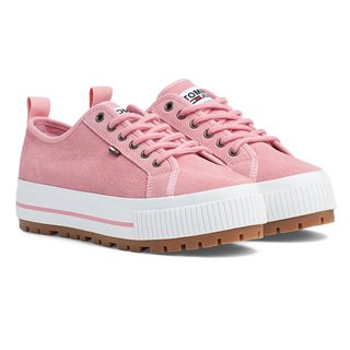 Tommy Hilfiger Footwear Sea Pink Suede City Trainers