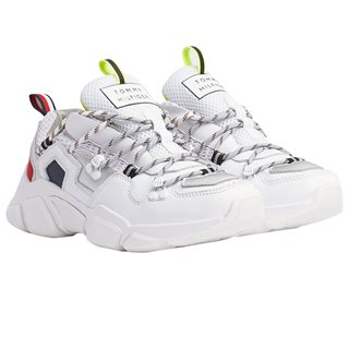 Tommy Hilfiger White Chunky Hiking Trainers
