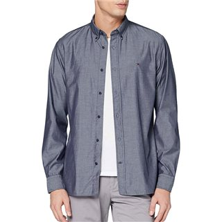 Tommy Hilfiger Carbon Navy Natural Soft Poplin Shirt