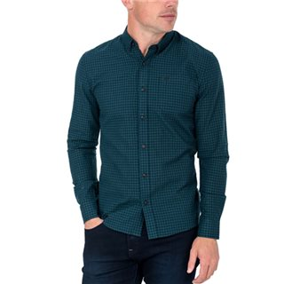 Tommy Bowe XV Kings Pine Squares Shortland Long Sleeve Shirt