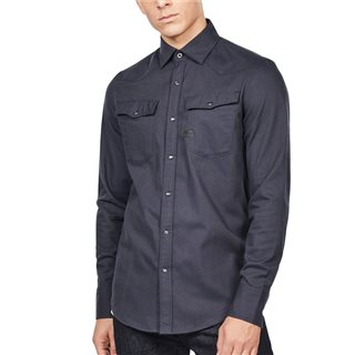 G-Star Mazarine Blue 3301 Slim Shirt