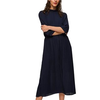 Selected Femme Night Sky Pleated Midi Dress