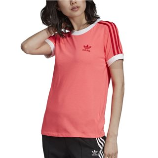 adidas Originals Flash Red 3-Stripes T-Shirt