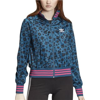 adidas Originals Mineral / Black Allover Print Track Top
