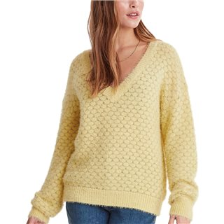 ICHI Pineapple Knitted Pullover