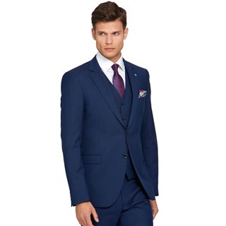 Benetti Petrol James Tapered Fit Suit Jacket